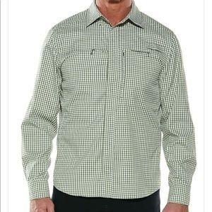 Coolibar Baraco Fishing Shirt UPF 50+ Large